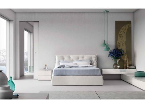 """Кровать двуспальная """"Белый лотус"""""""