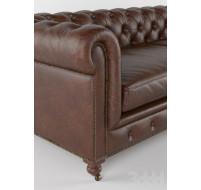 """Классический диван """"Chester"""" из натуральной кожи"""
