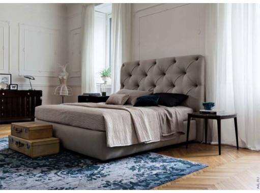 Кровать двуспальная с большим изголовьем  «Big Ben»