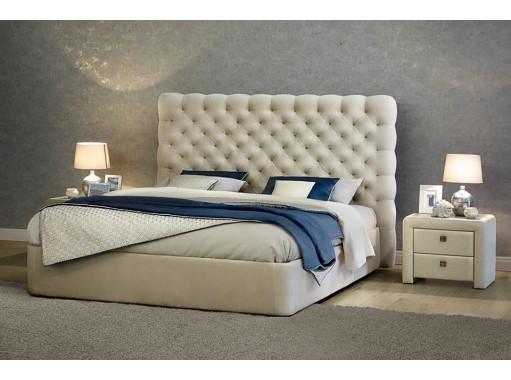 Кровать двуспальная «Белый Ягуар»